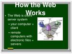 how the web works4