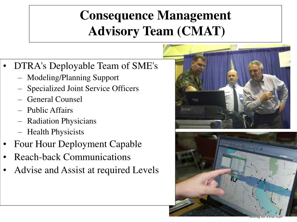 DTRA's Deployable Team of SME's