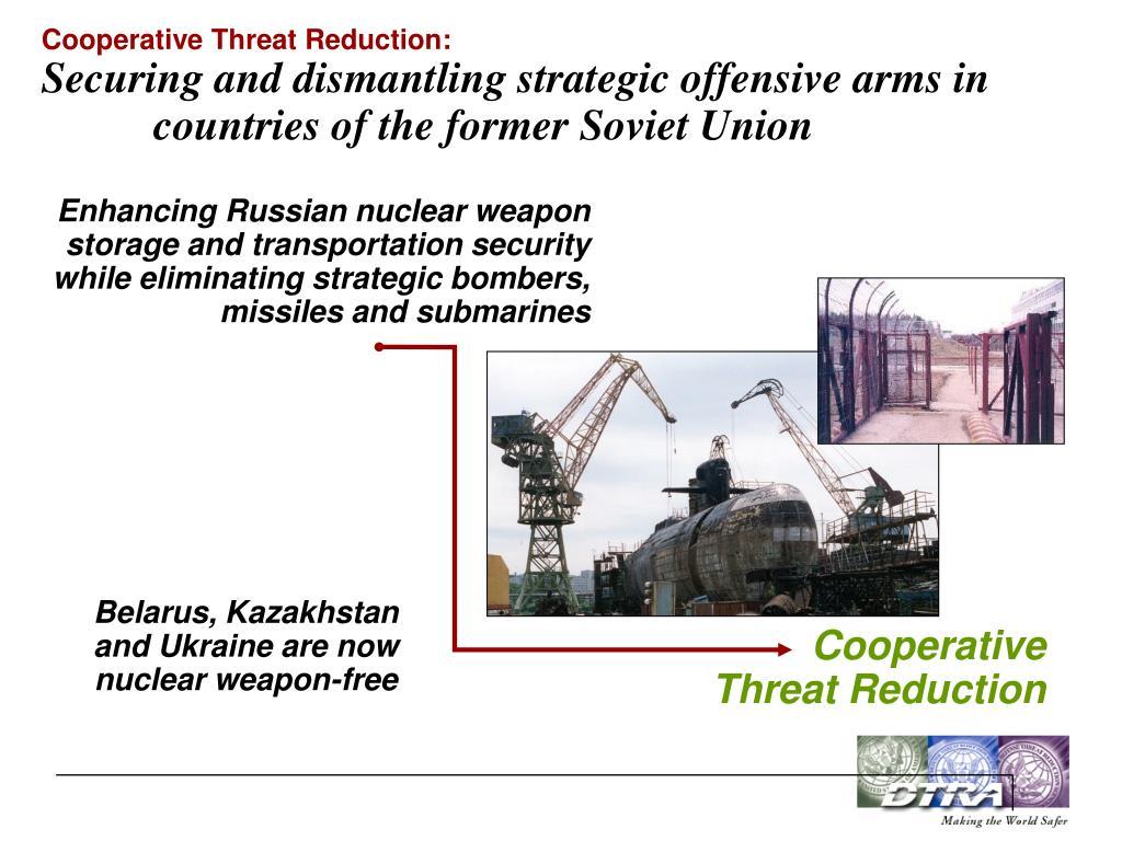 Cooperative Threat Reduction:
