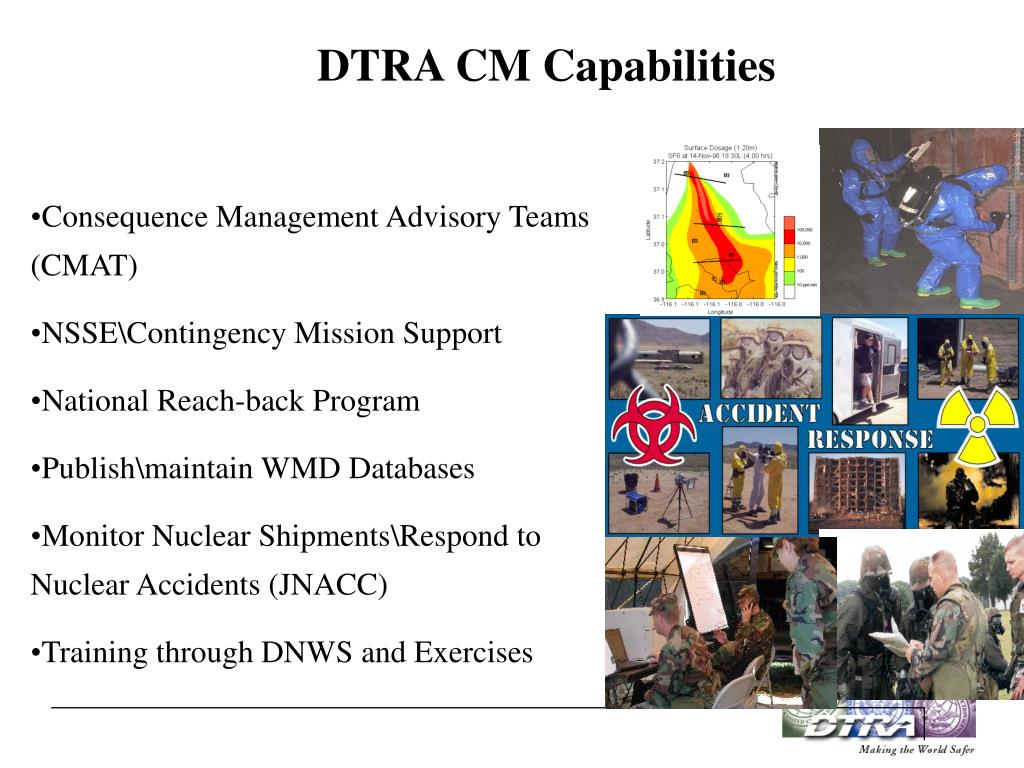 DTRA CM Capabilities
