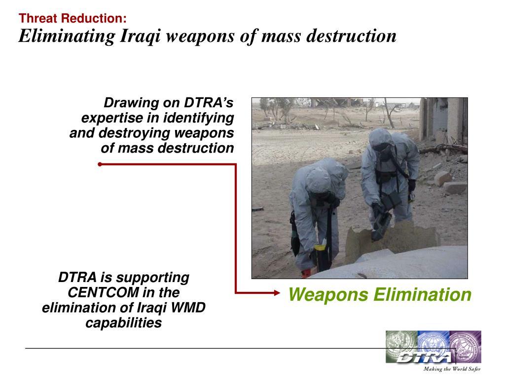 Threat Reduction: