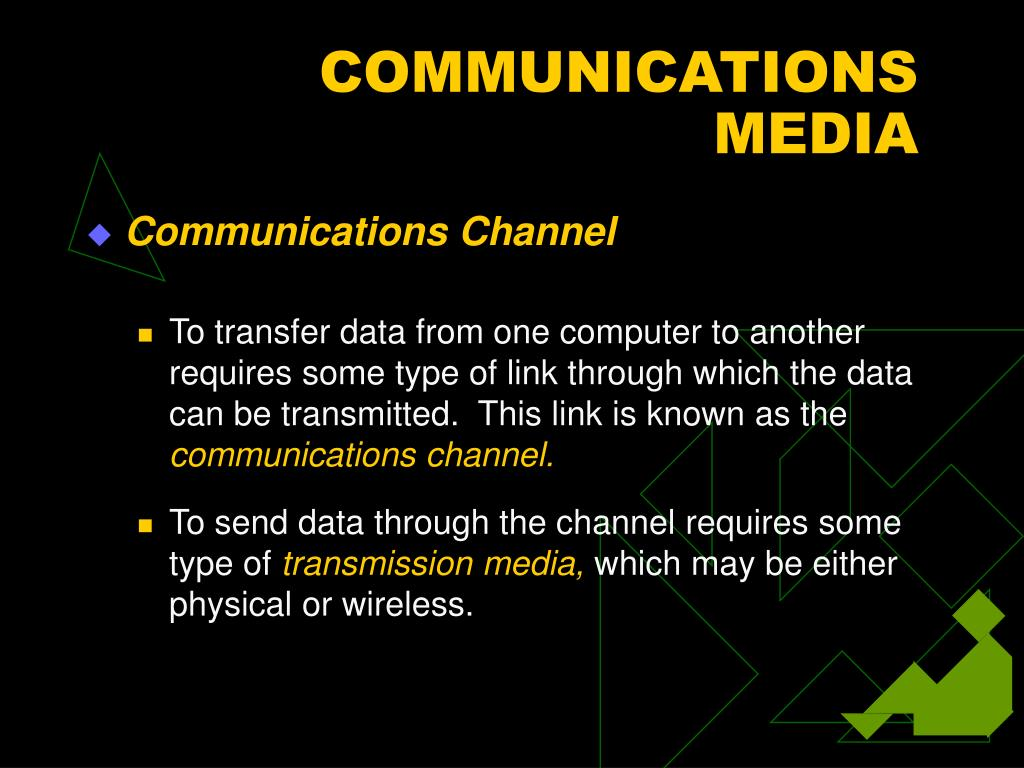 COMMUNICATIONS MEDIA
