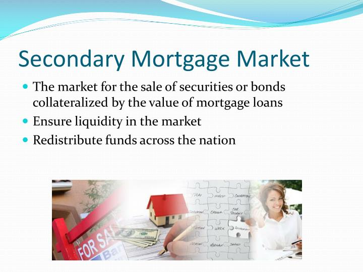 Secondary mortgage market l.jpg