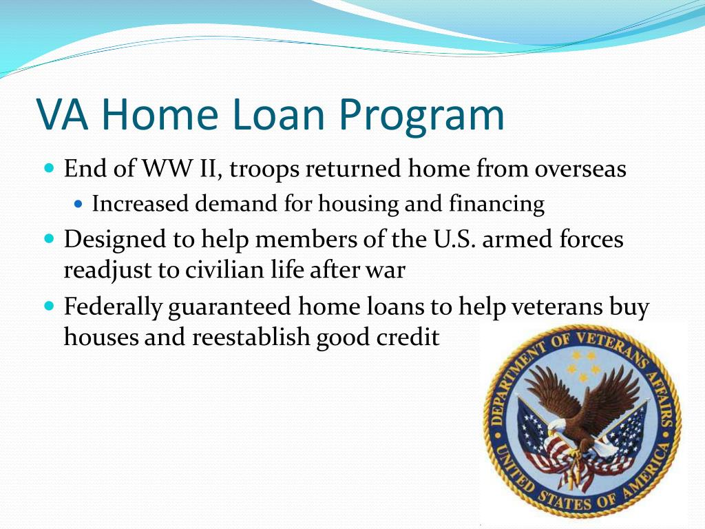 VA Home Loan Program