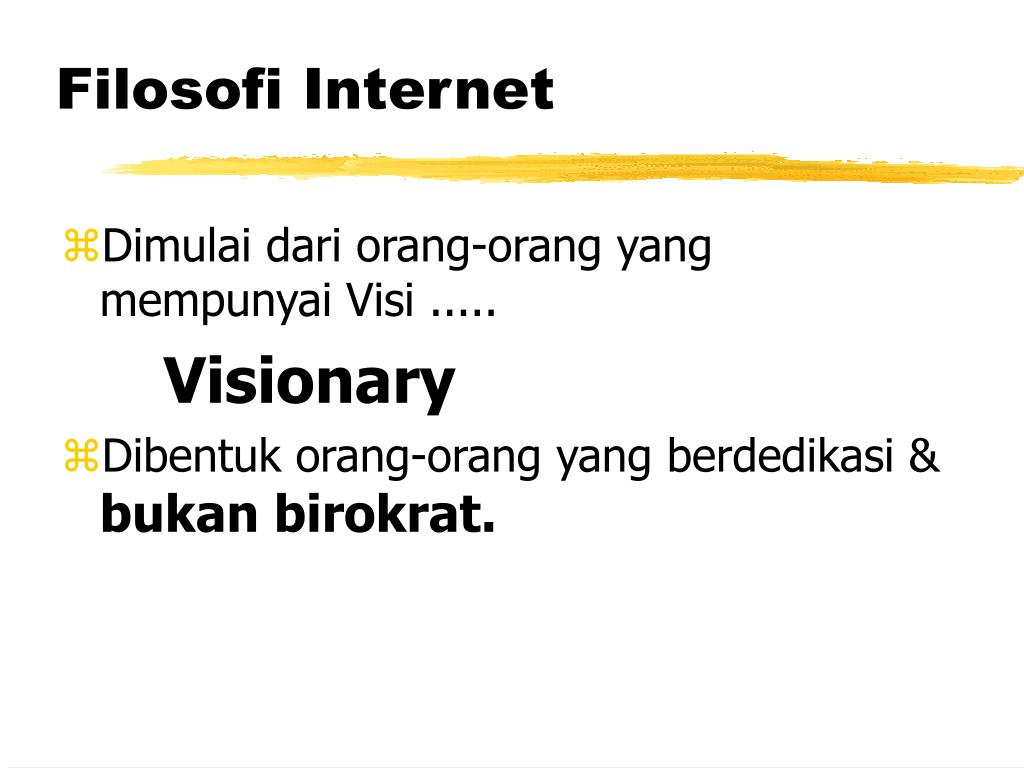 Filosofi Internet