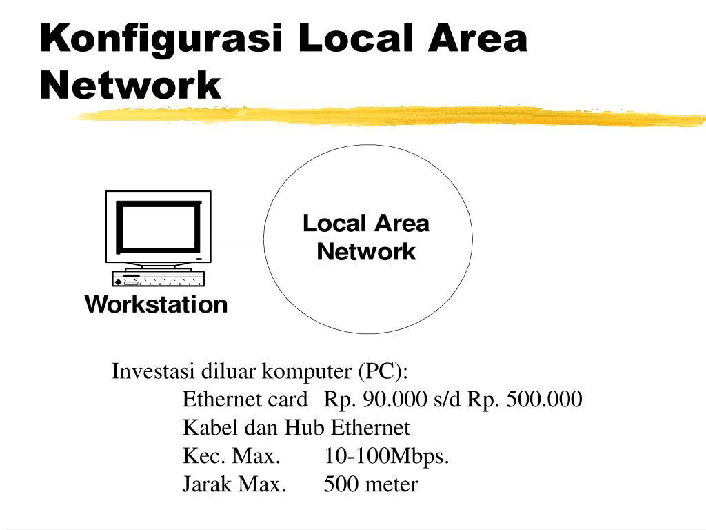Konfigurasi Local Area Network