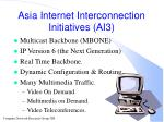 asia internet interconnection initiatives ai3