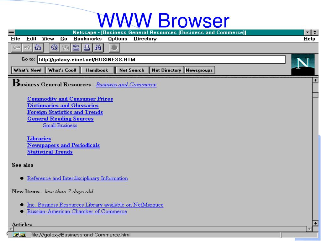WWW Browser