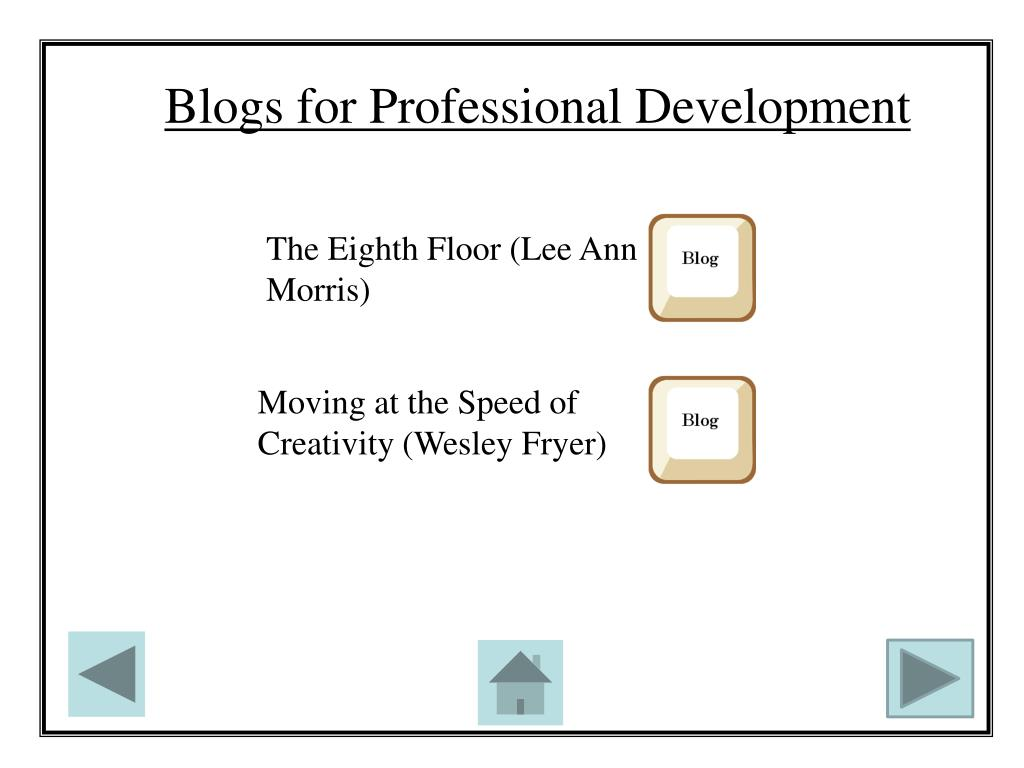 Blogs for Professional Development