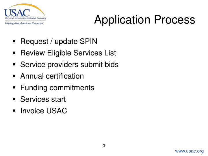 Application process3