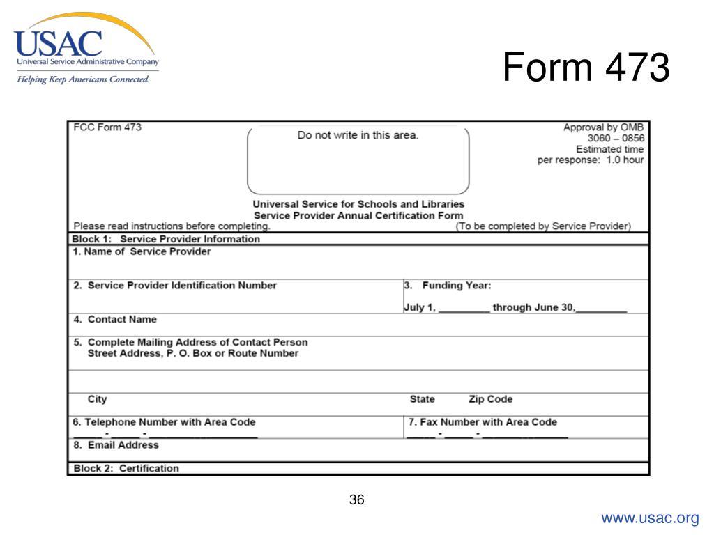 Form 473