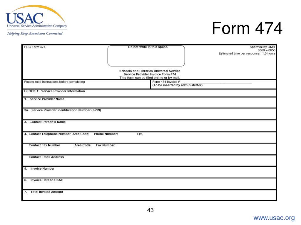 Form 474