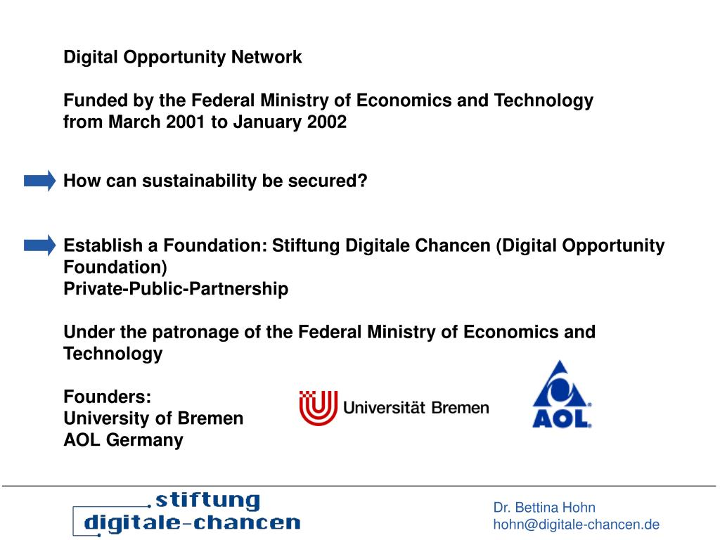 Digital Opportunity Network