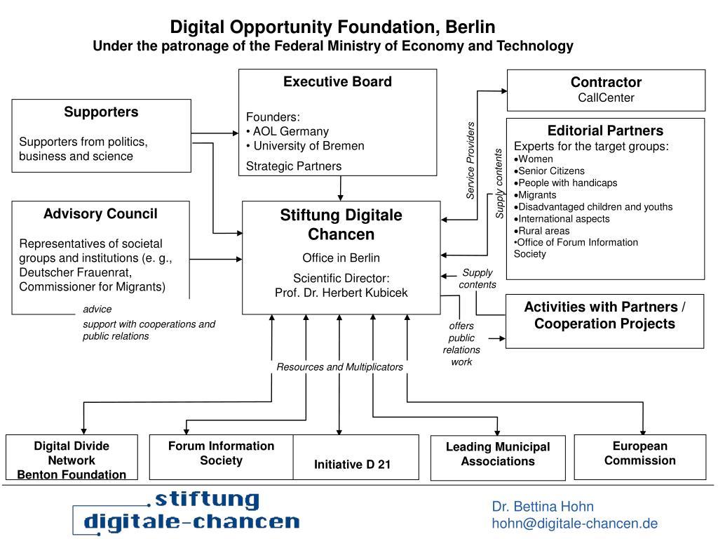 Digital Opportunity Foundation, Berlin