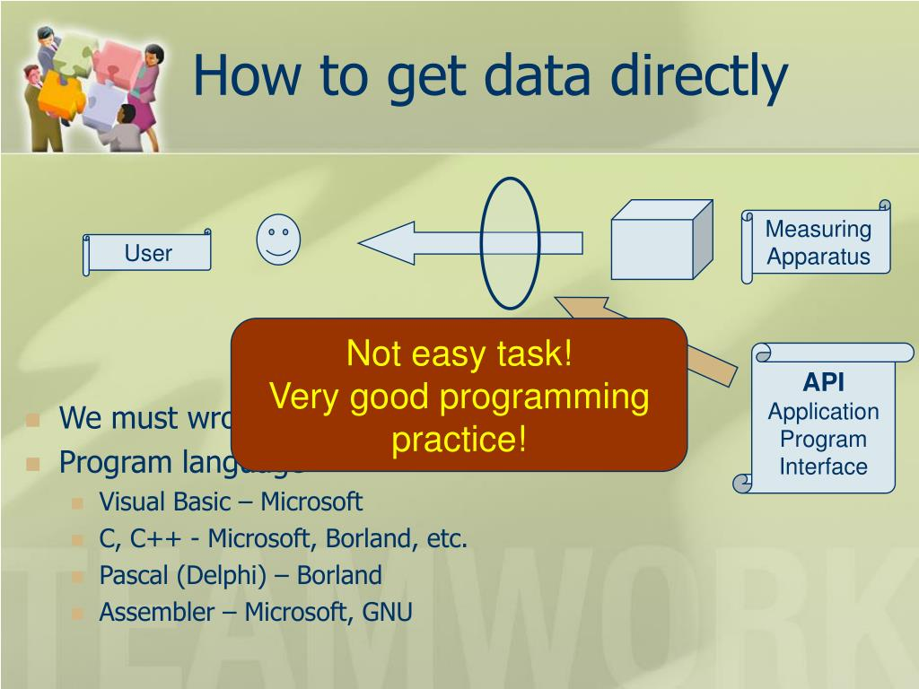 How to get data directly