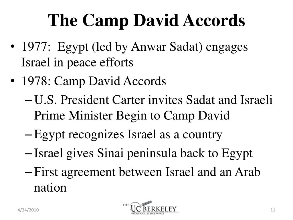 The Camp David Accords
