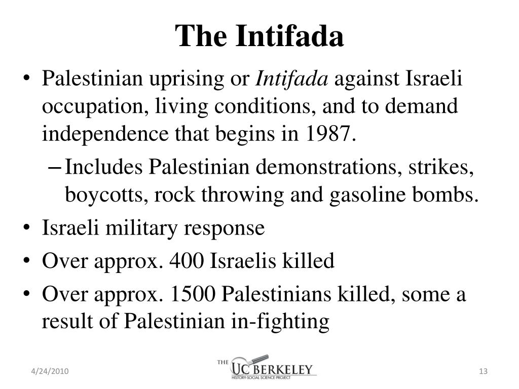The Intifada