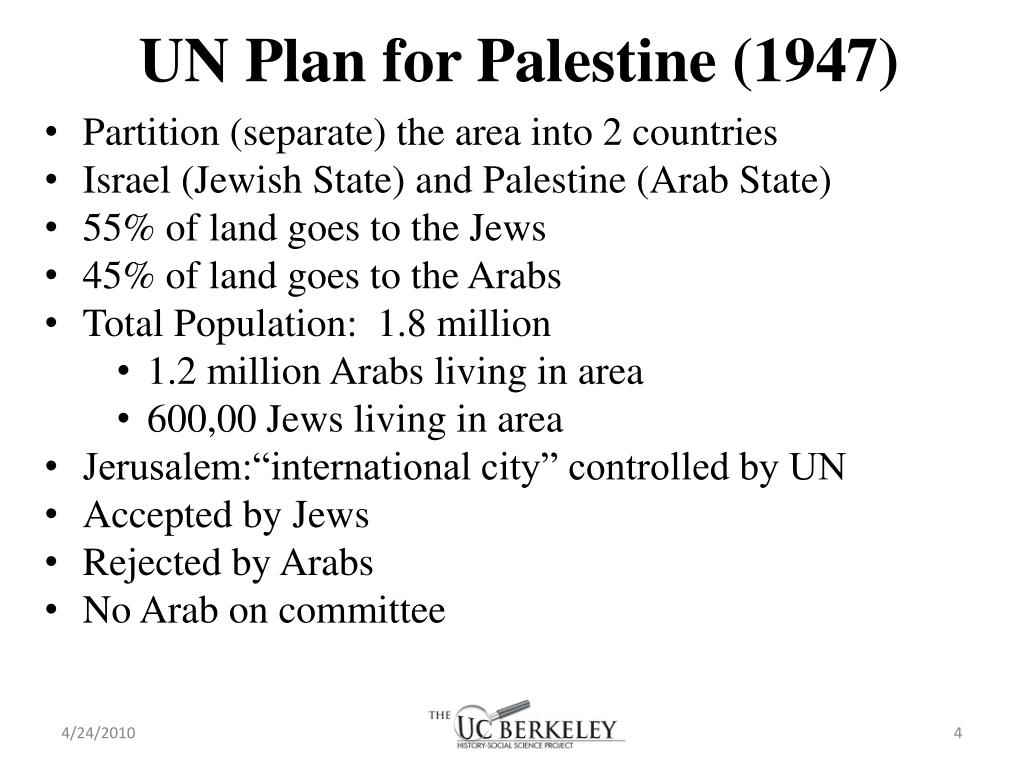 UN Plan for Palestine (1947)