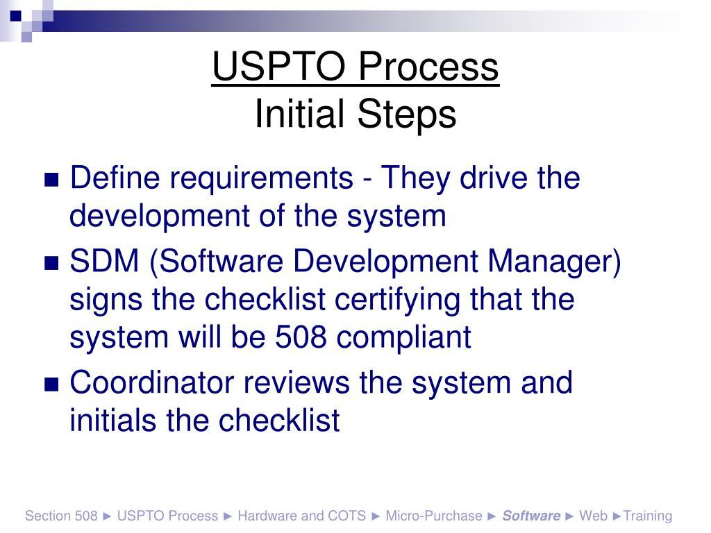 USPTO Process