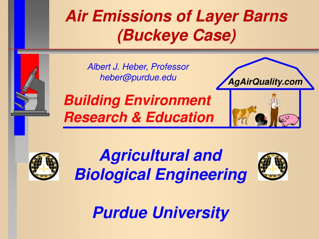 Air Emissions of Layer Barns