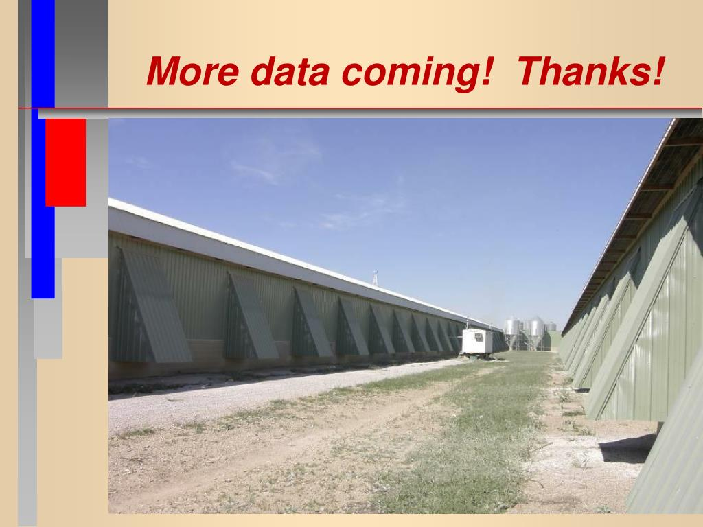 More data coming!  Thanks!