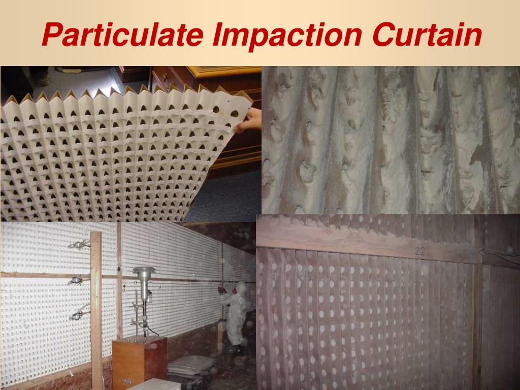 Particulate Impaction Curtain