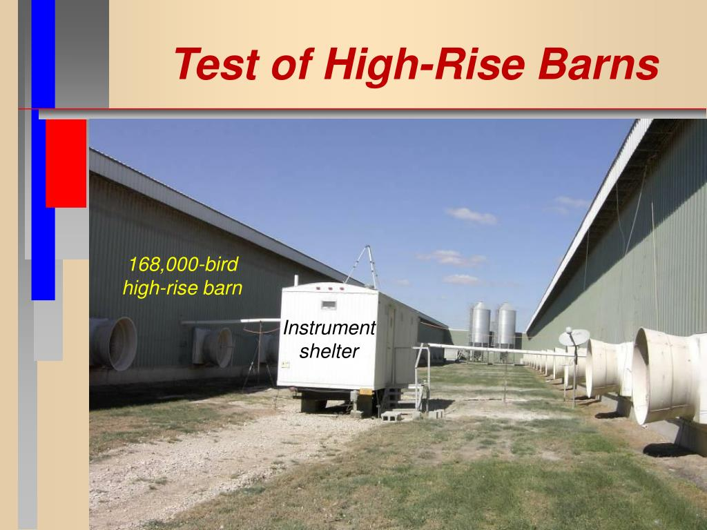 Test of High-Rise Barns
