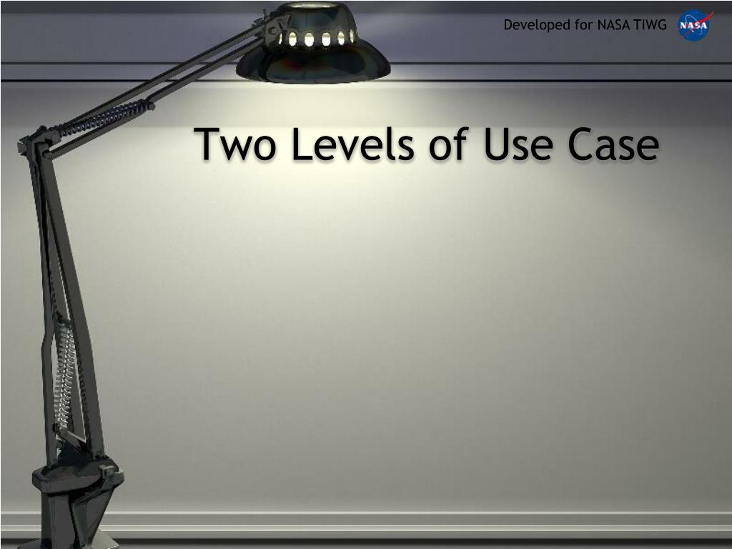 Two Levels of Use Case
