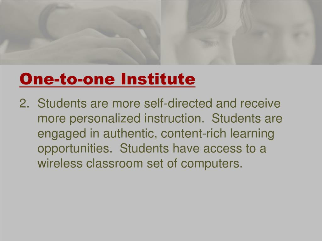 One-to-one Institute