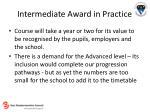 intermediate award in practice20