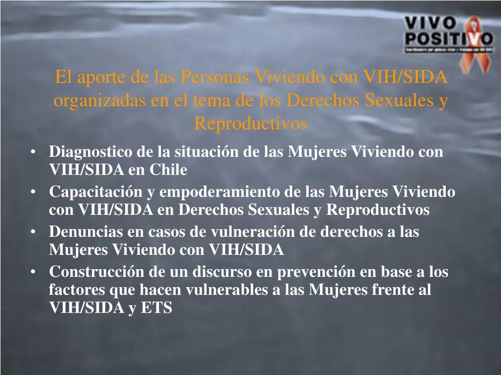 Diagnostico de la situación de las Mujeres Viviendo con VIH/SIDA en Chile