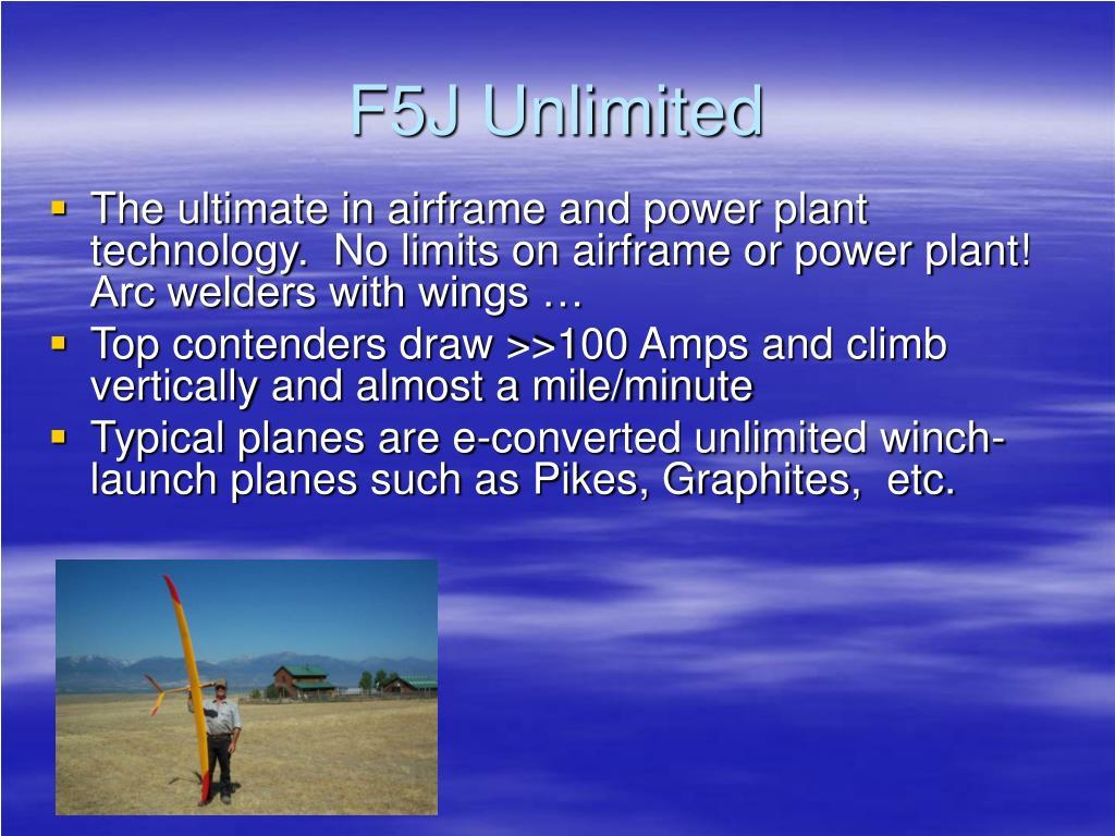 F5J Unlimited