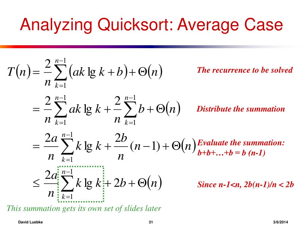 This summation gets its own set of slides later