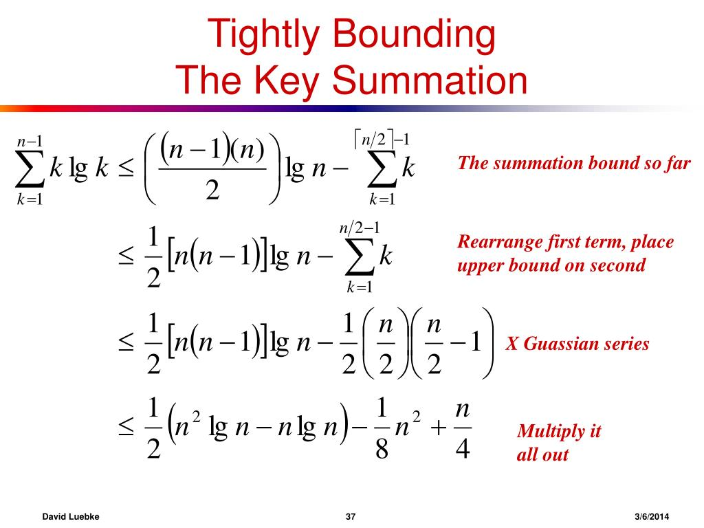 Tightly Bounding