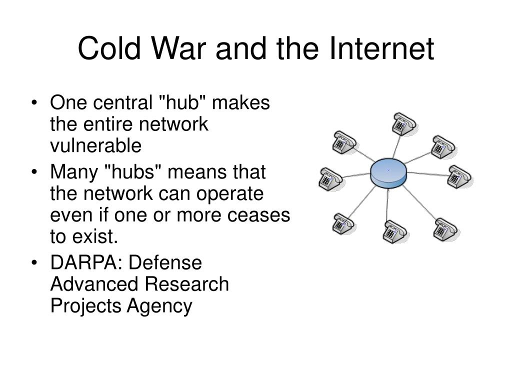 Cold War and the Internet
