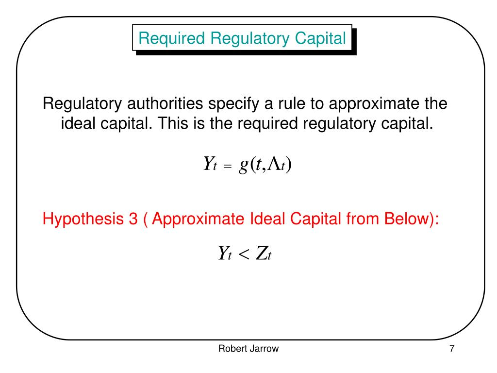Required Regulatory Capital