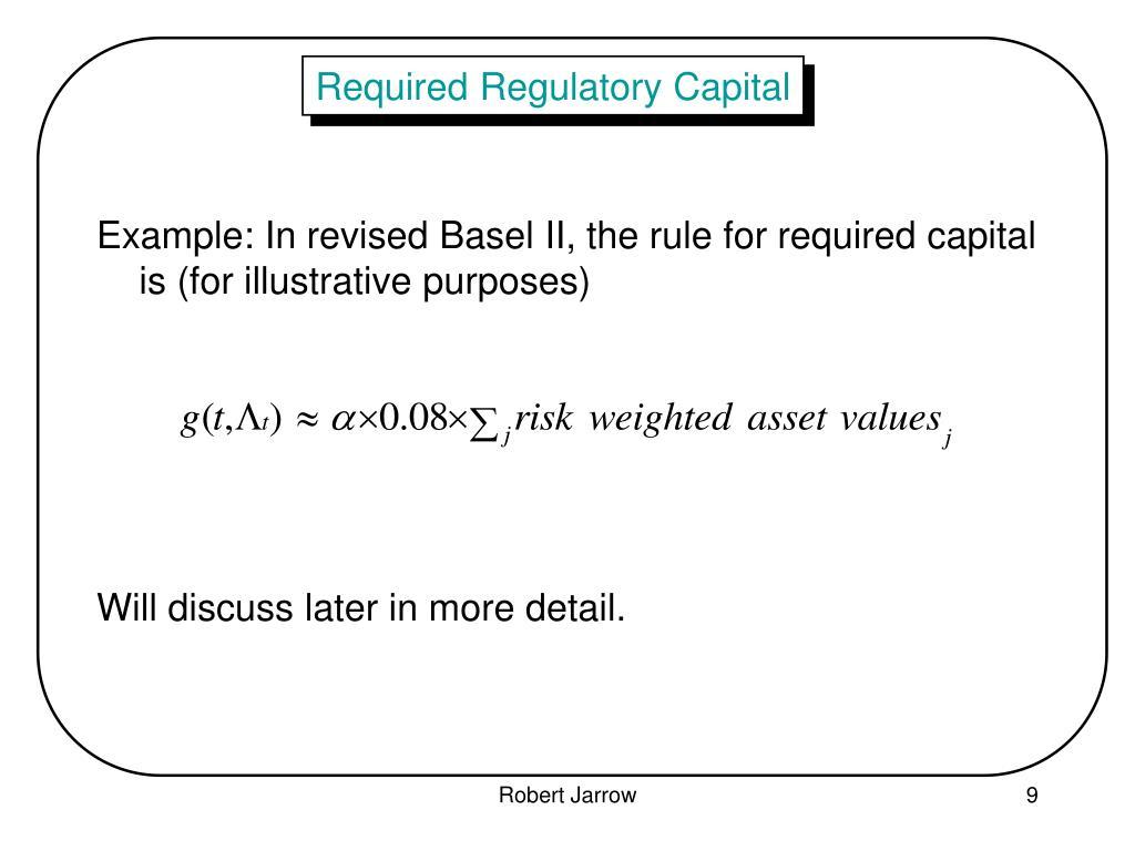 Required Regulatory Capital