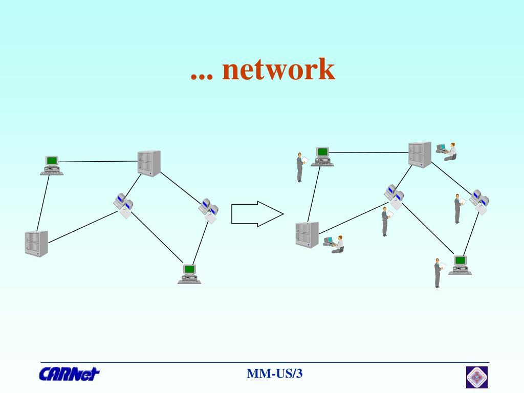 ... network