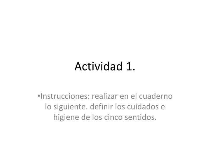 Actividad 1.