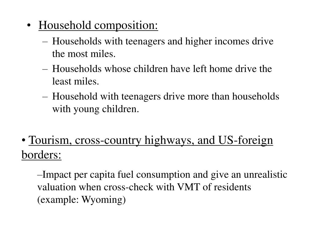 Household composition: