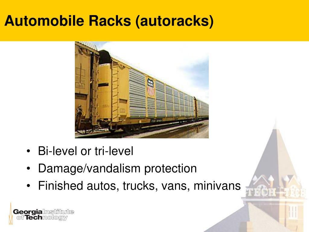 Automobile Racks (autoracks)