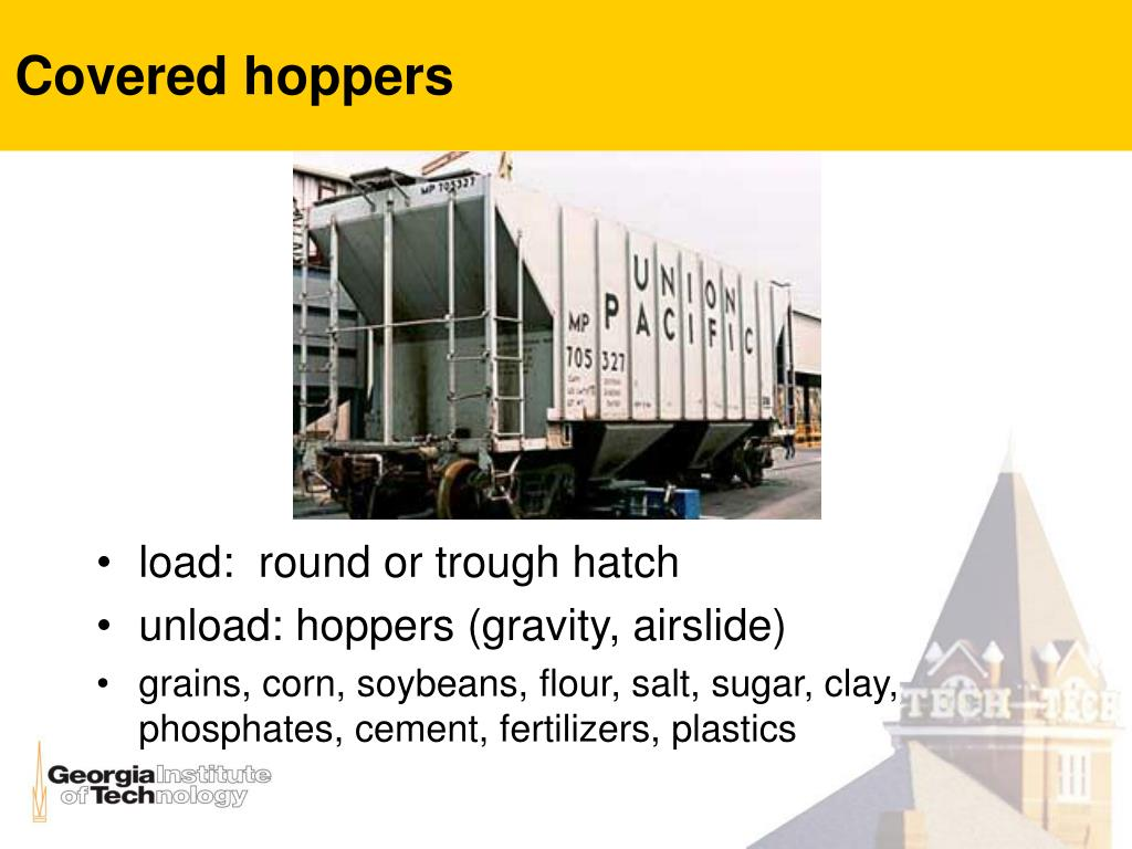 Covered hoppers
