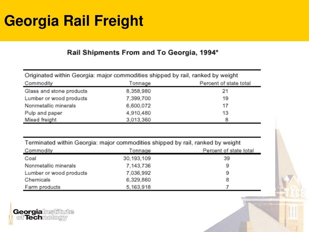 Georgia Rail Freight