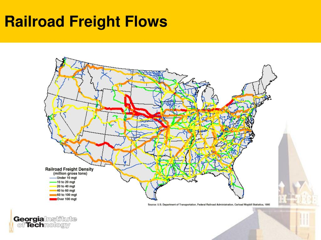 Railroad Freight Flows
