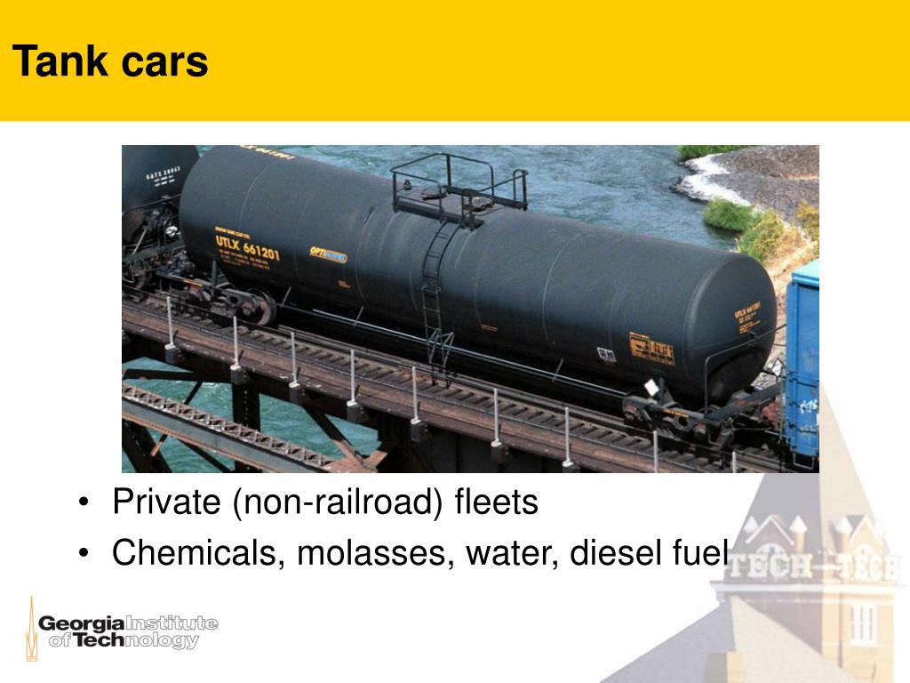 Tank cars