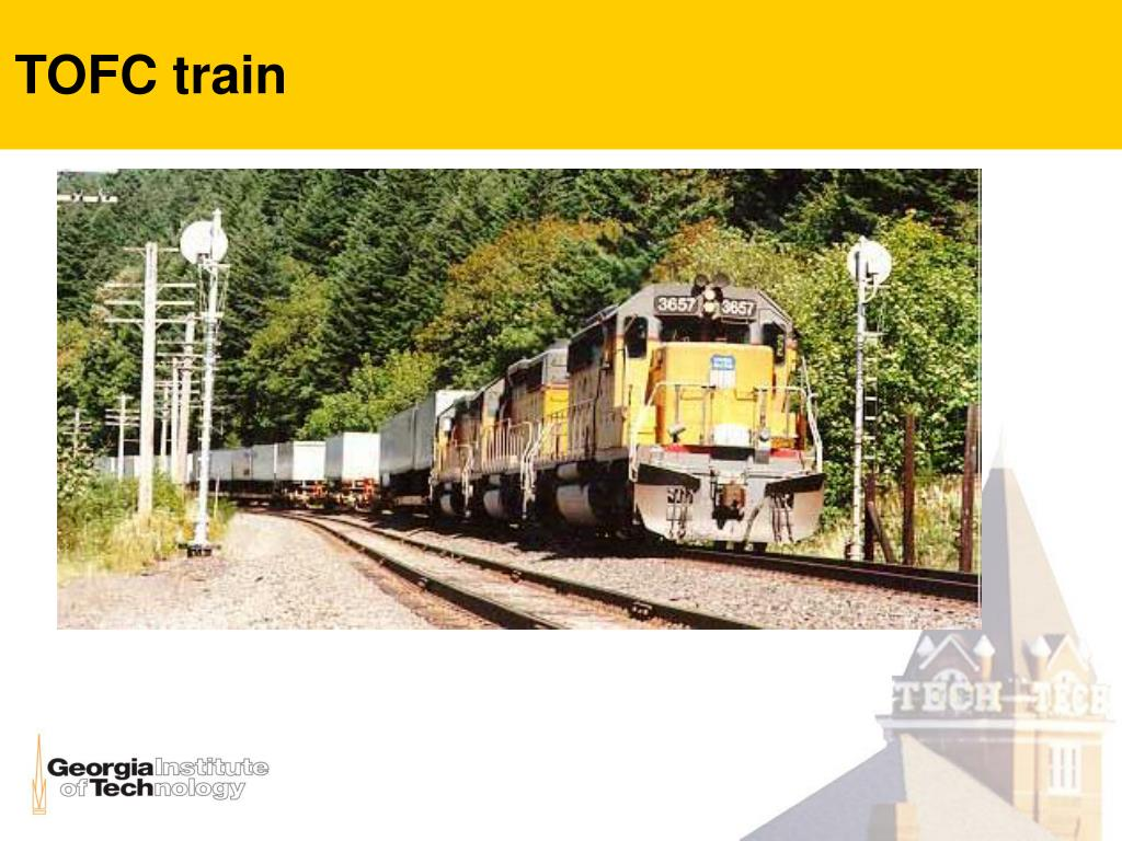 TOFC train