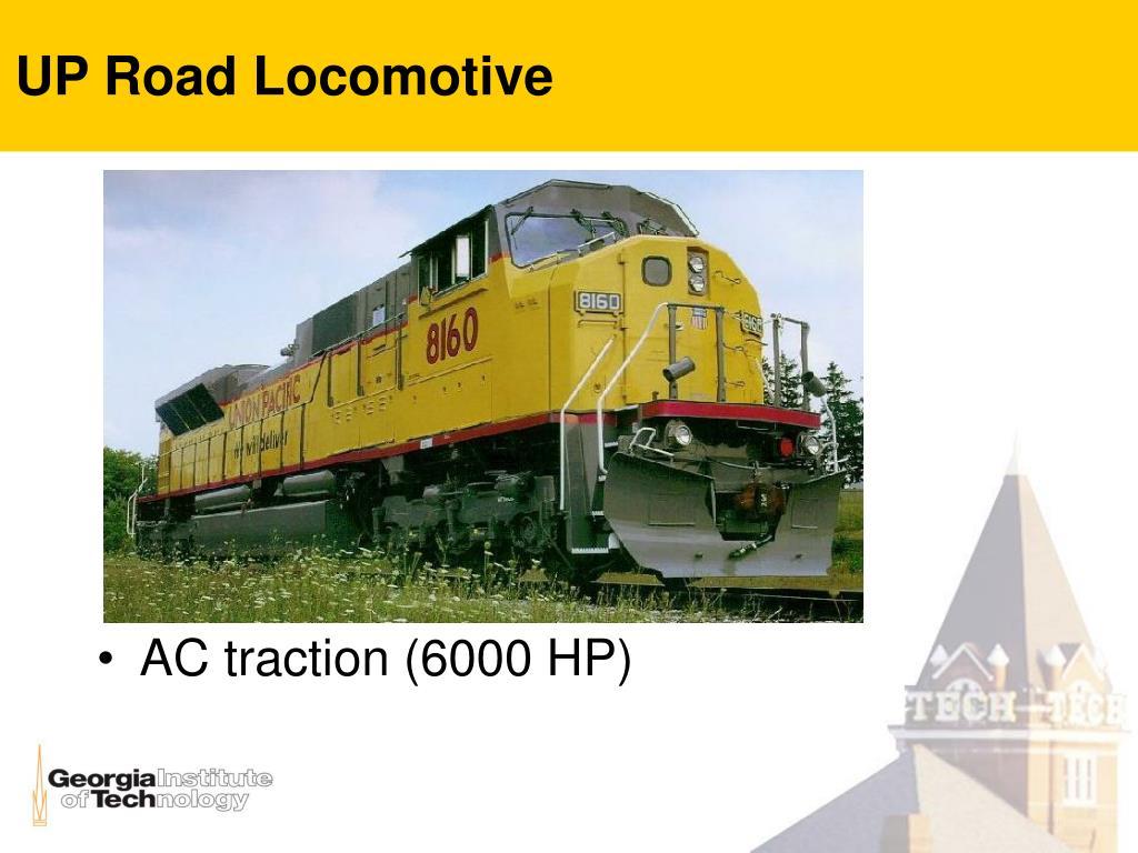 UP Road Locomotive