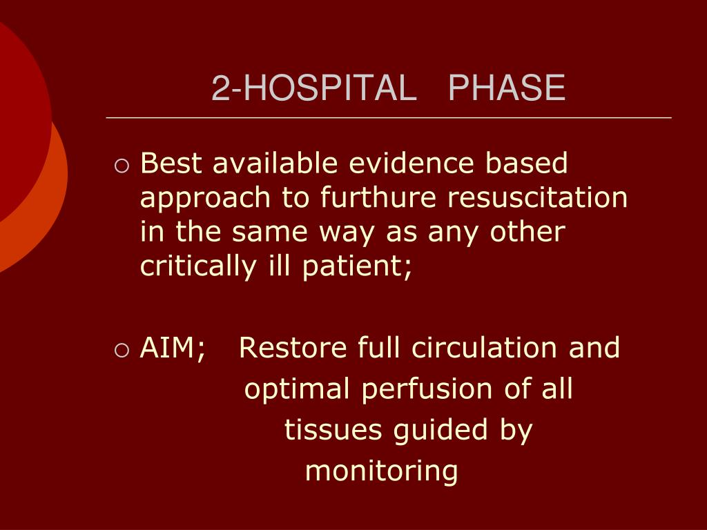 2-HOSPITAL   PHASE