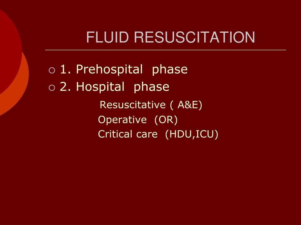 Fluid management in patients with trauma: Restrictive versus liberal approach