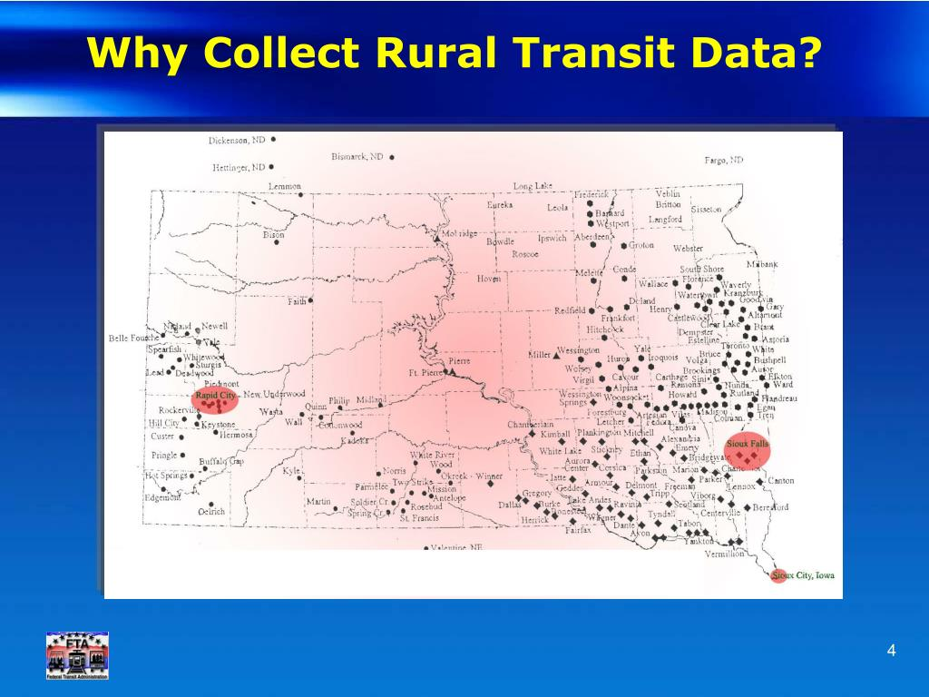 Why Collect Rural Transit Data?